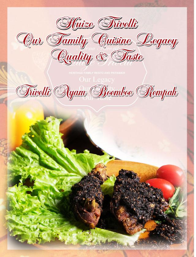 Trivelli Ayam Boemboe Rempah